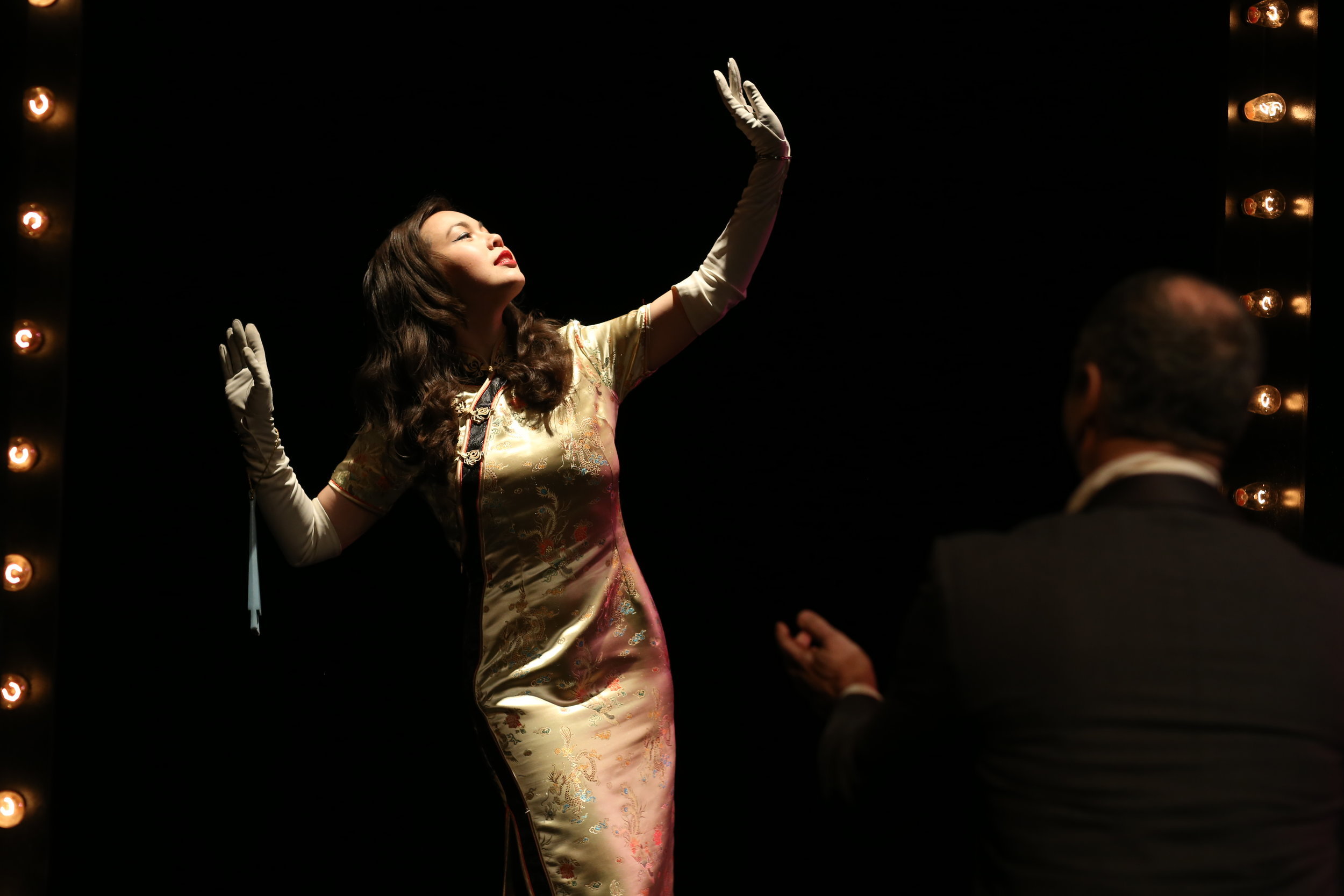 Katie Lee Hill in Pan Asian Repertory Theatres production of FILM CHINOIS 2014 photo credit John Quincy Lee.JPG