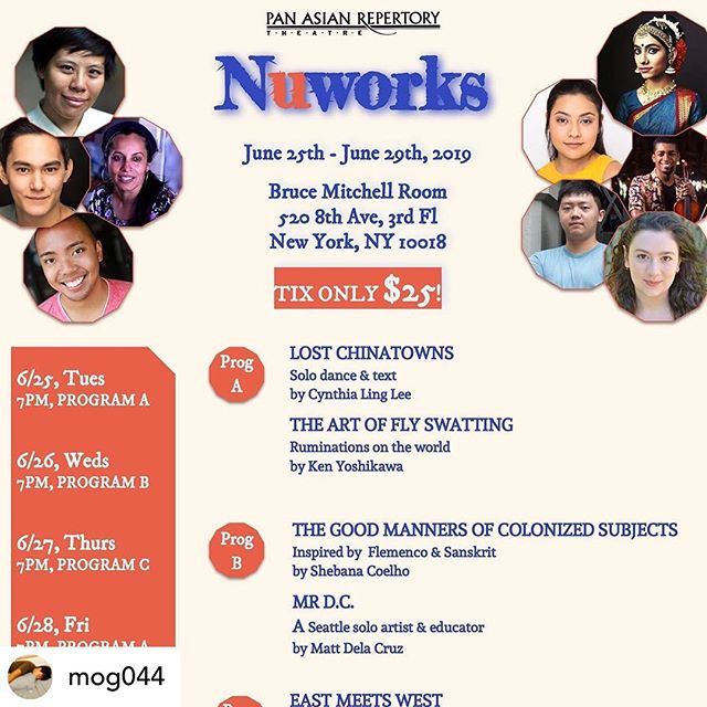 Posted • @mog044 [Link in Bio! Code NW20 for $20 tickets] 🎉🎉 HELEN, Book and Lyrics by @ioana.pb, Music by me, will be performed in @panasianrep's NuWorks 2019 by a stellar all-Asian cast, @amicachang @secretaustinman @paulinanastasha @xiaoqing59. Directed by Mandarin Wu, @mengmeikuo on the piano. Come see HELEN, a musical staged reading, on Thurs June 27 (Helen Keller's Birthday!) 7pm or Sat June 29 7pm, Program C #helenthemusical #panasianrep #nuworks  #helenkeller #musicaltheatre
