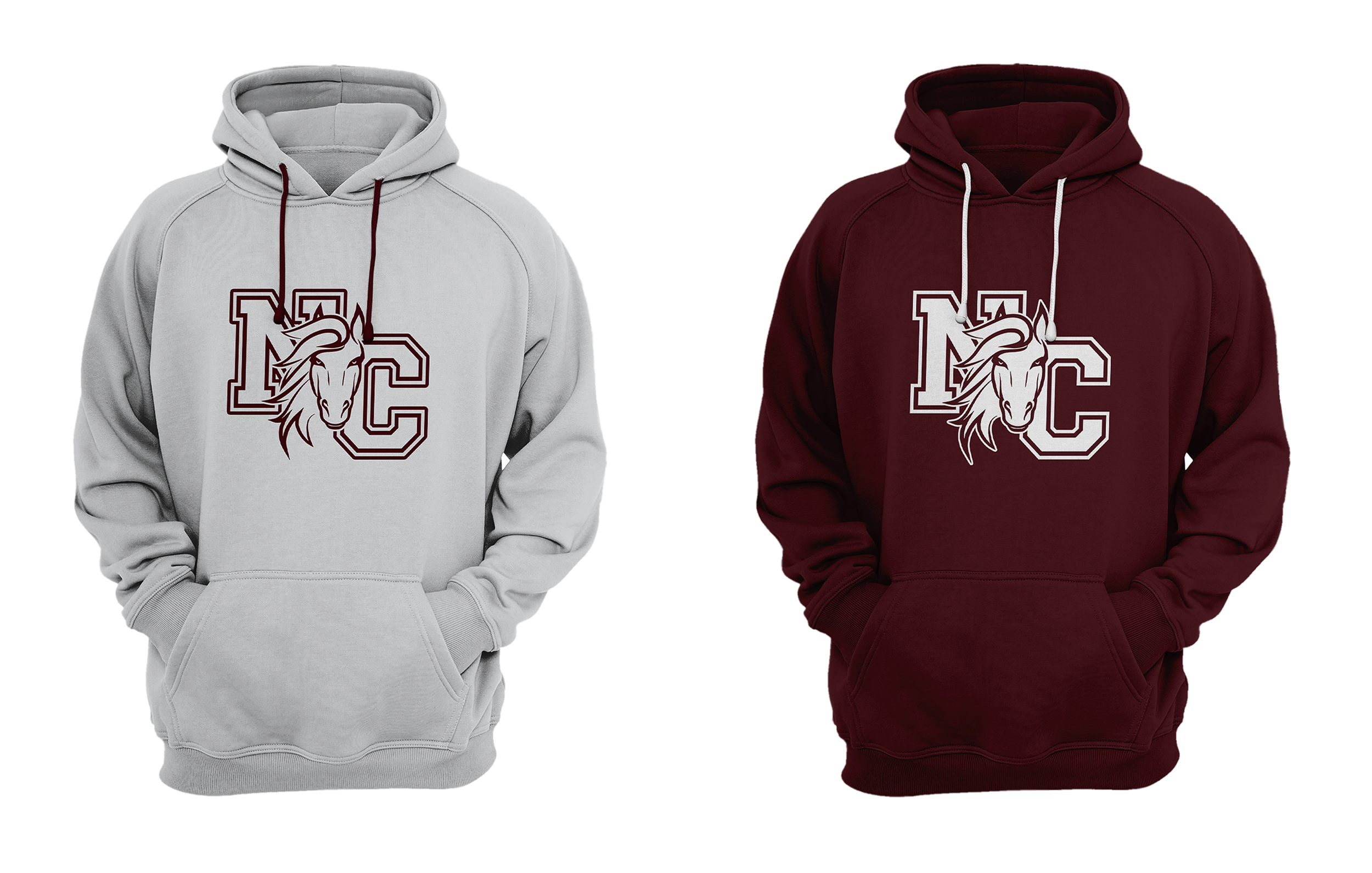 NC Head On Mustang HOODIES.png