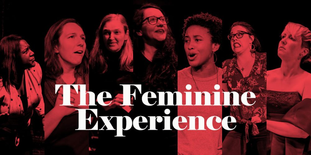 The Feminine Experience  is a completely improvised, uncensored, uninhibited, unapologetic show about vaginas, femininity, and redefining it all.