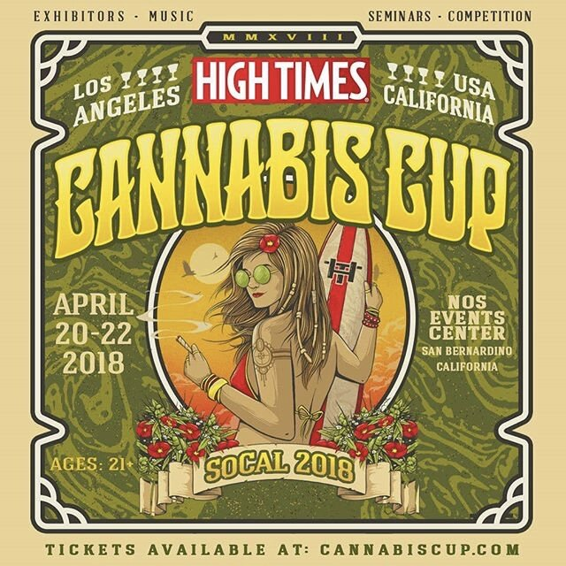 High Times • Cannabis Cup Events. Partnerships