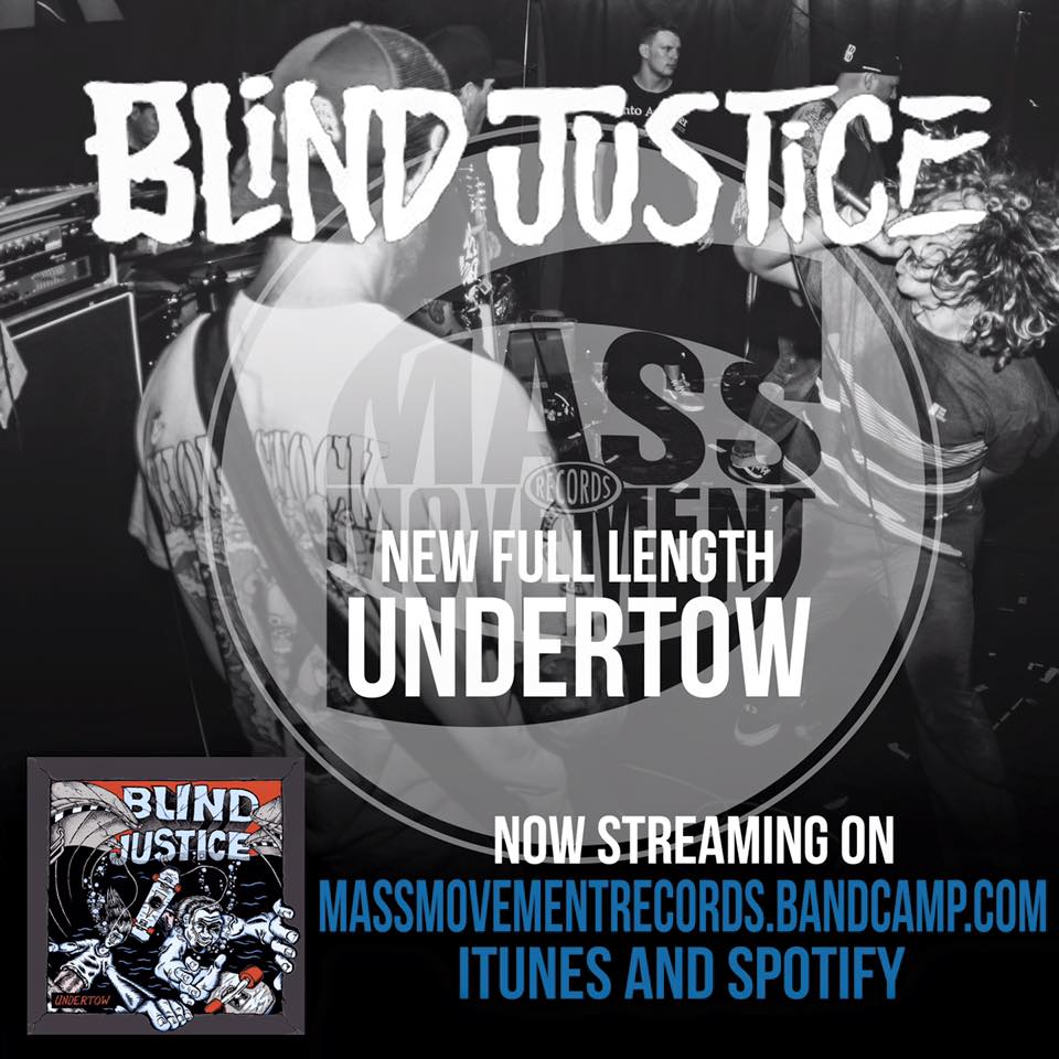 - Live photograph used for BLIND JUSTICE's 'Undertow' streaming announcement.