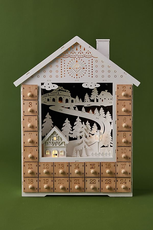 Snowy House Advent