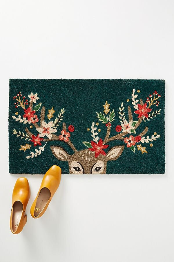 Decorated Derr Doormat