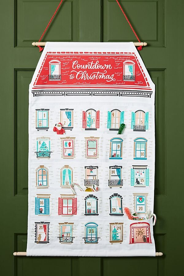Anthropologie Countdown to Christmas Advent Calendar