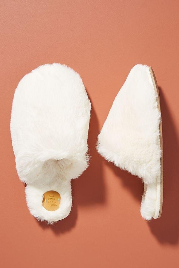 Margot Faux Fur Slippers