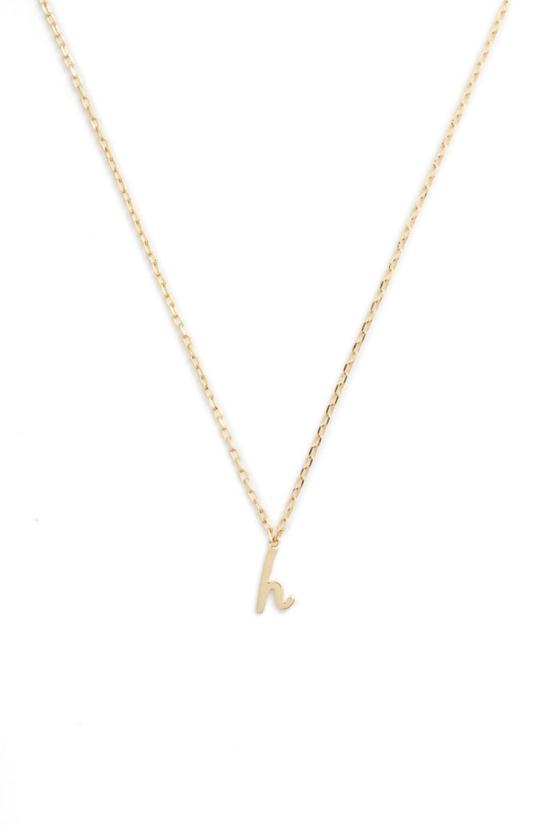 One in A Million Inital Pendant Necklace