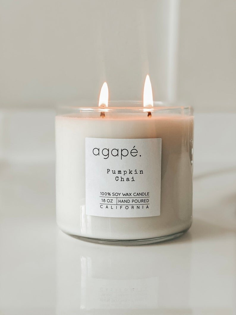 18oz Double Wick - Agape Candles