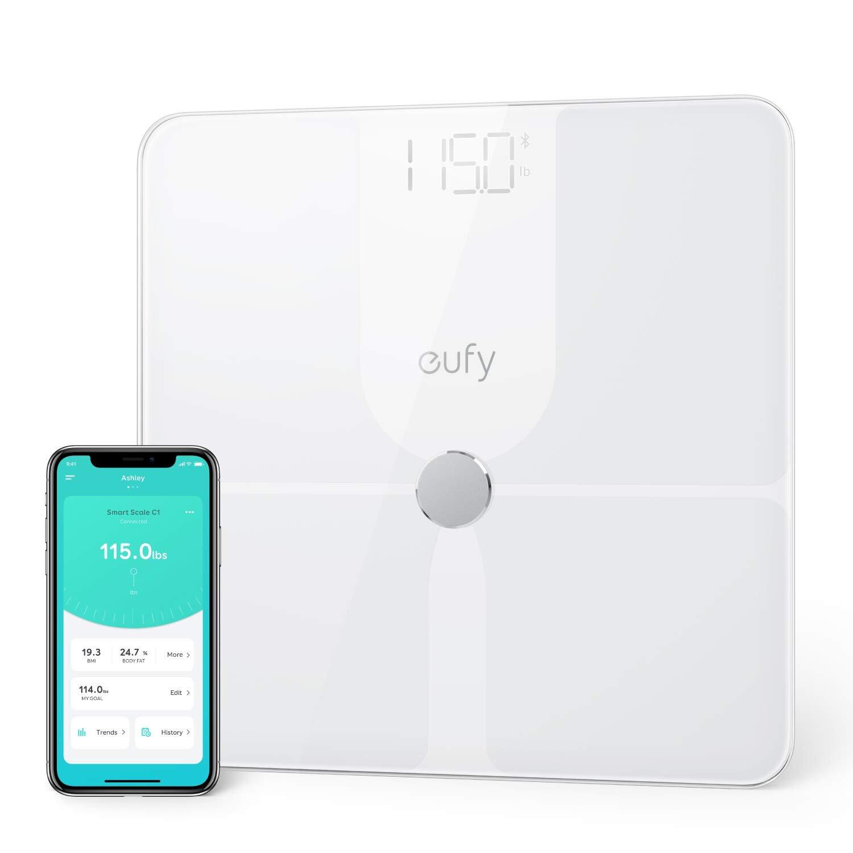 eufy Smart Scale P1 with Bluetooth, Body Fat Scale, Wireless Digital Bathroom Scale