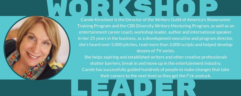 carole kirschner workshop leader gtfu bio.png