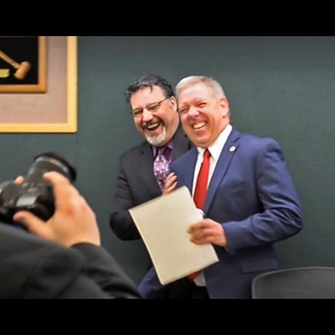 We endorsed them, and now they've taken office: Meet Pierce County Council's newest members! #piercecounty  Read The News Tribune's Q & A with Dave Morell and Marty Campbell via link in our bio. 📷: Peter Haley @thenewstribune