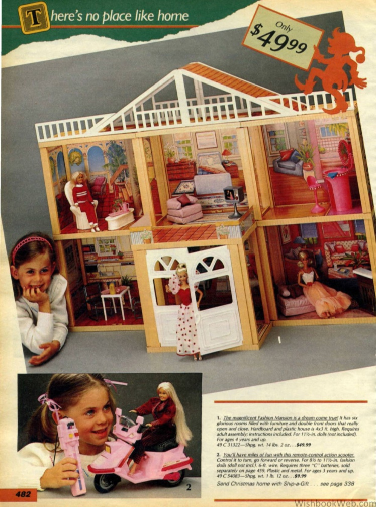 Brooke - Barbie Dream House - wishbookweb.com
