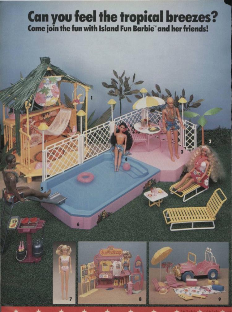 Brooke - Tropical Dreams Barbie - wishbookweb.com