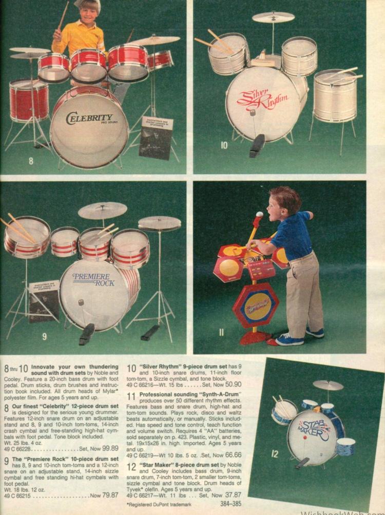 Brooke - Drum Set - wishbookweb.com