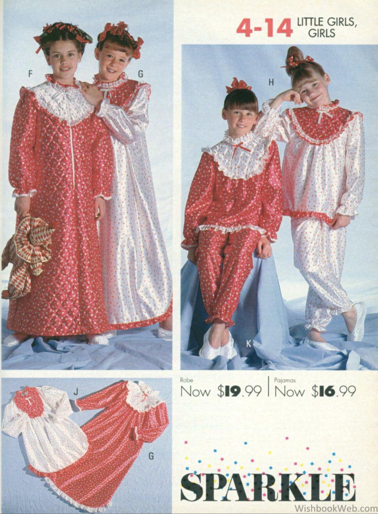 Nikki Wished for These Christmas Pajamas - wishbookweb.com