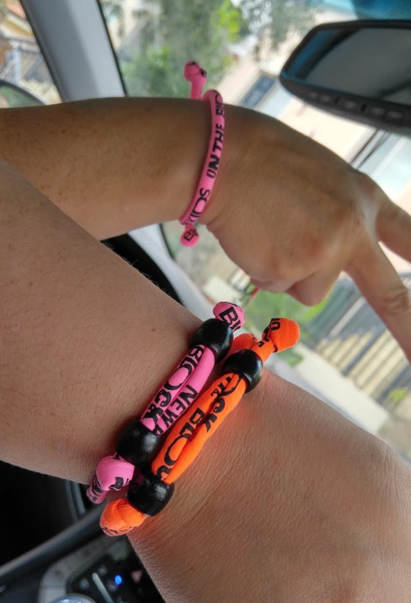 I got vintage bracelets for Christian, Kate, and I