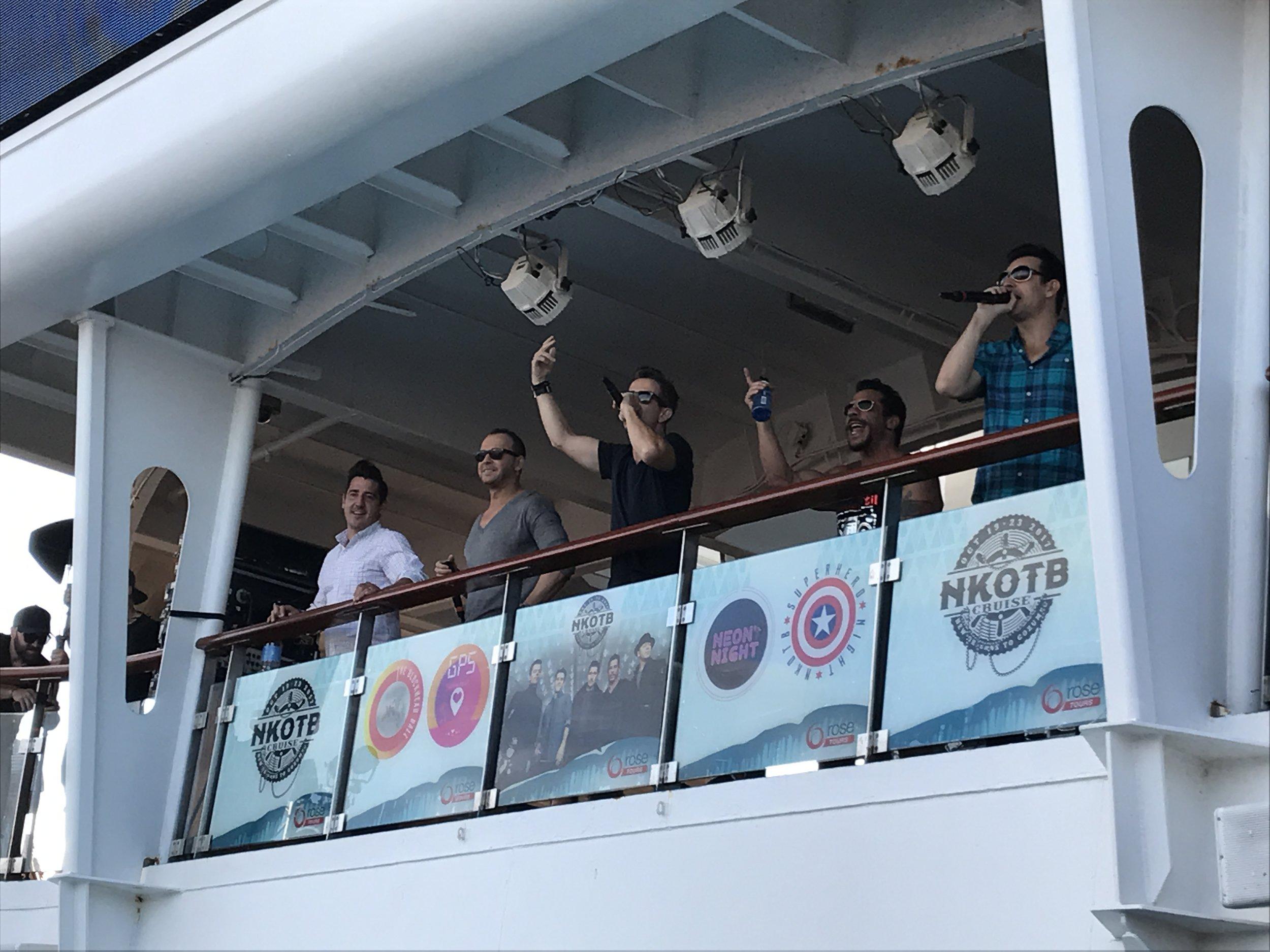 cruise sail away party.JPG