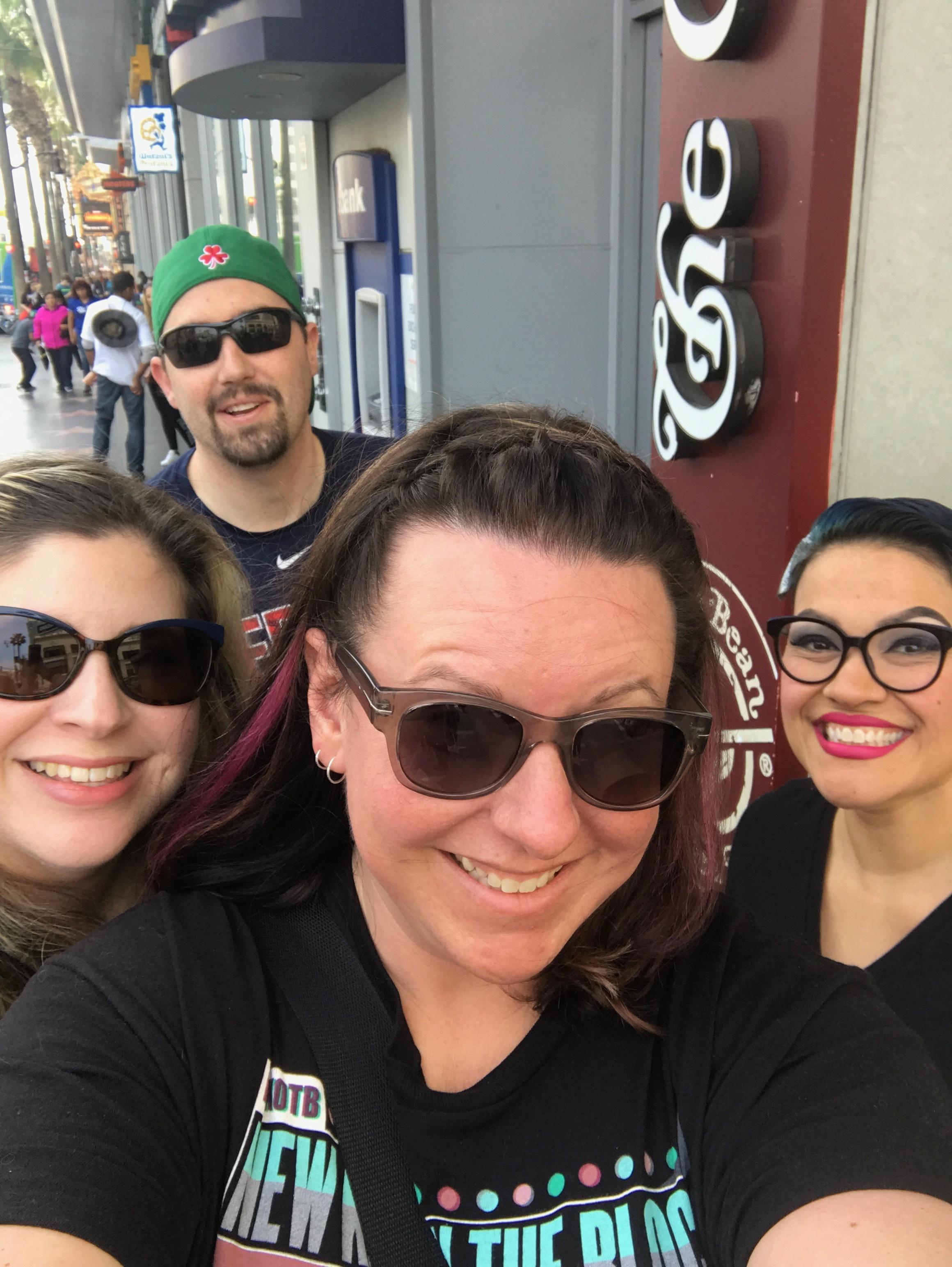 Group Pic!  Nikki, Kristine, Charlene, Kevin