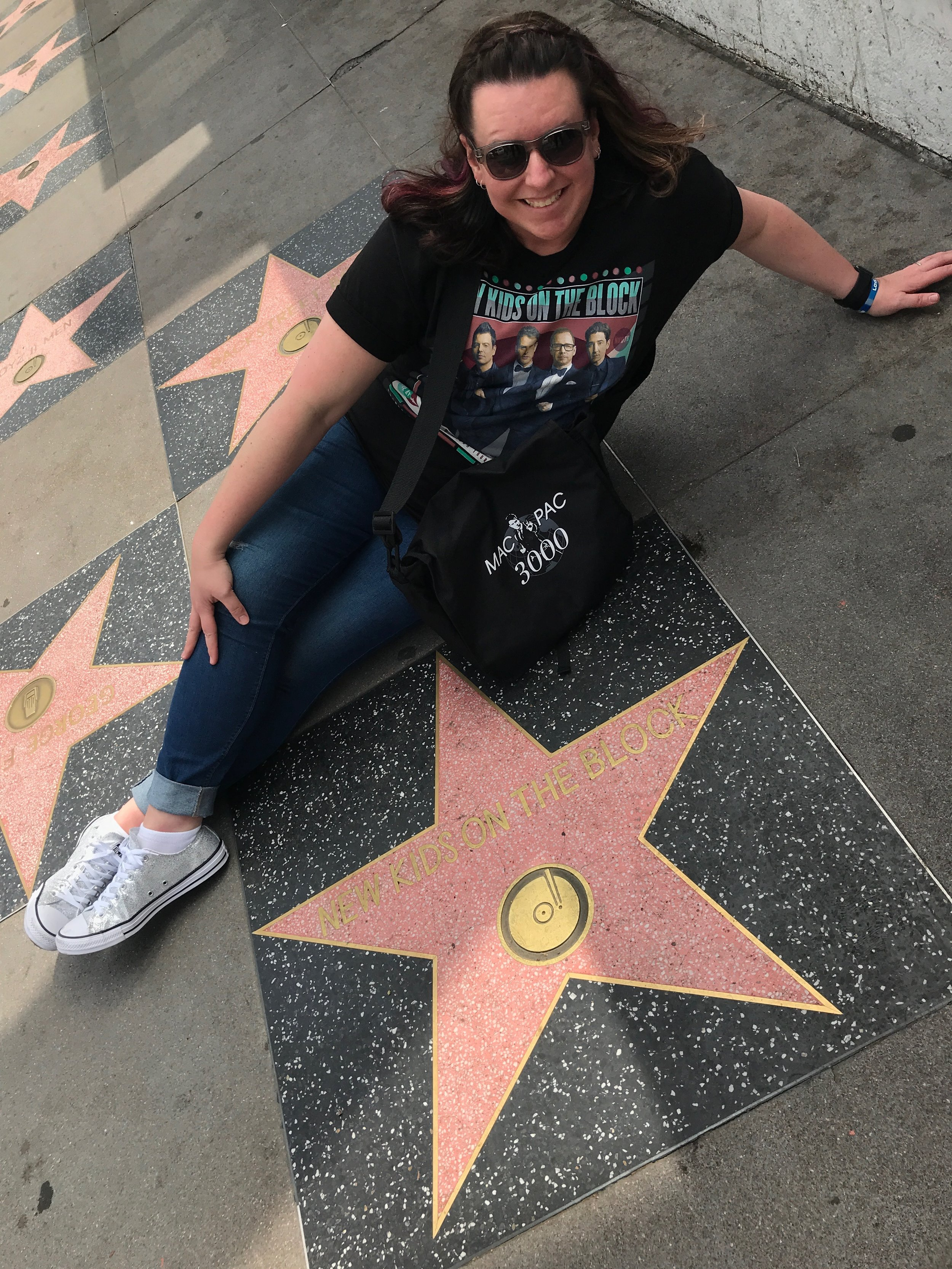 Nikki & The New Kids on the Block Star - Hollywood Walk of Fame - Hollywood Blvd