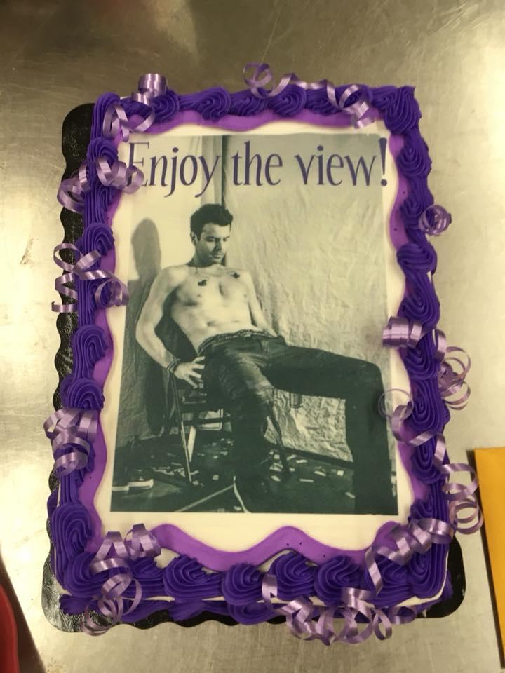 Jennifer's Bon Voyage Cake