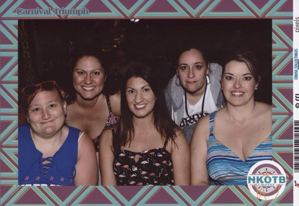 Chrissy, me, Debbie, Gina and Tiffany