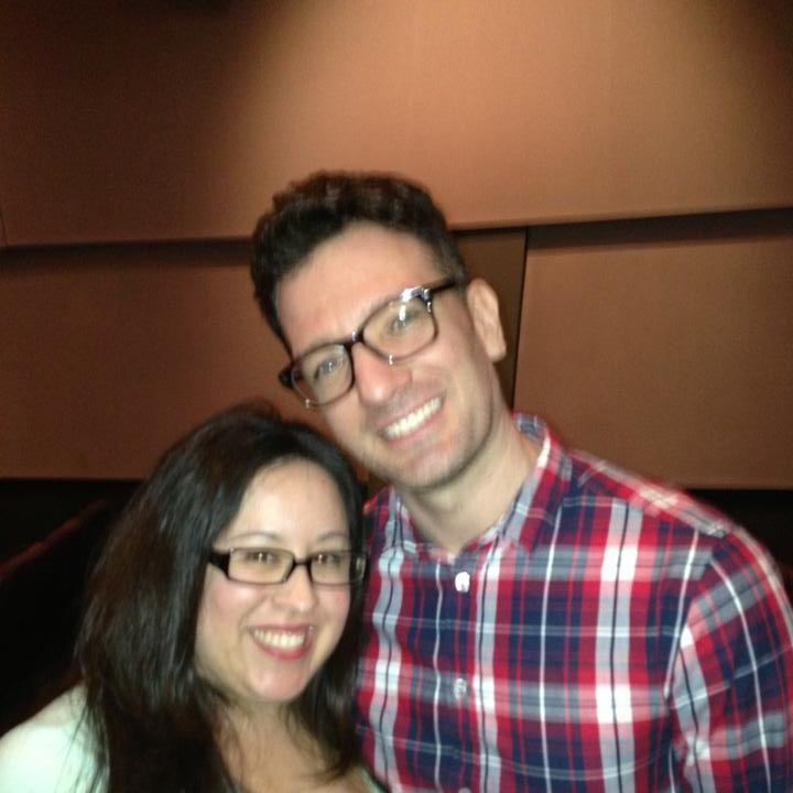 Gina and JC at the Matthew Morrison event