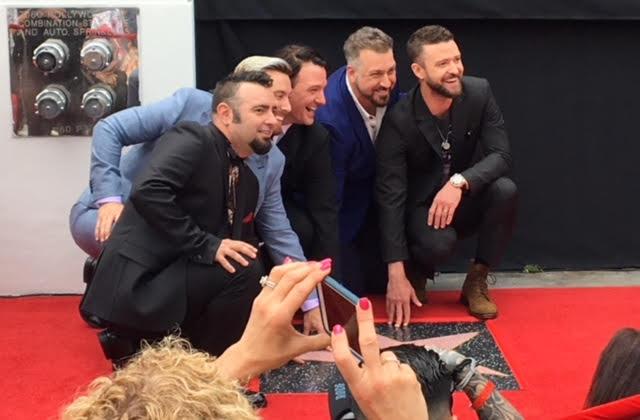 *NSYNC Hollywood Walk of Fame Star Ceremony