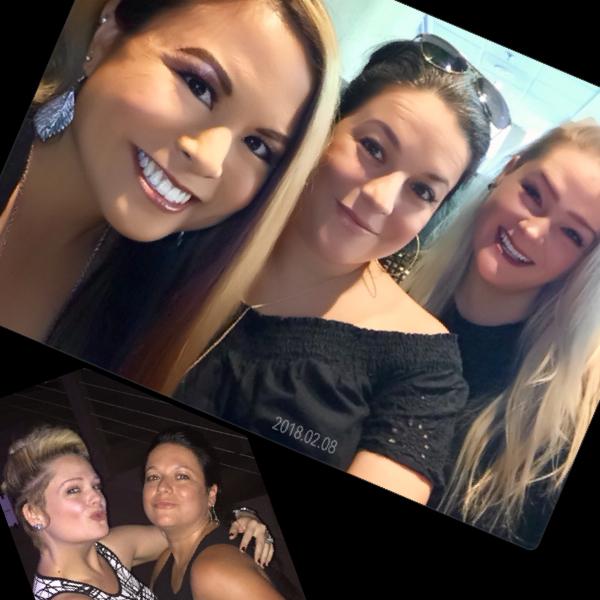 Top: Tiffany Ponce (AITC friend), Lisa Cannata, Jennifer McGill  Bottom: Jennifer McGill, Lisa Cannata