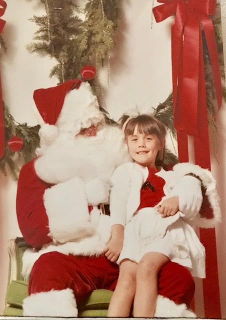 Me and Santa!