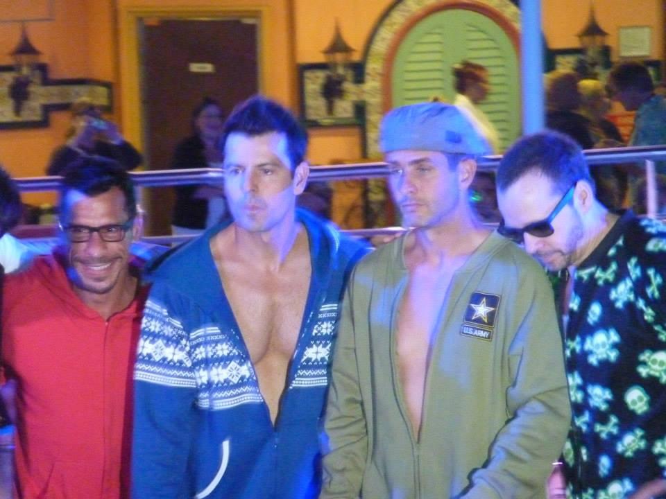 Loved the guys in their onesies.jpeg