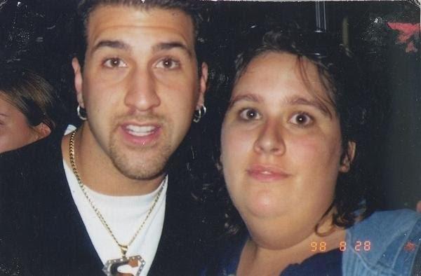 Rachel and Joey Fatone