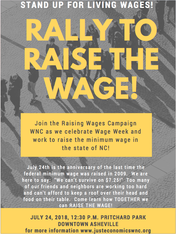 Did you know that the $7.25 federal minimum wage went into effect in 2009 and has not been raised since? -