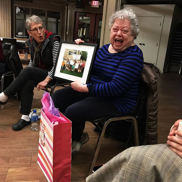 This past weekend we honored Terry Grunwald, one of our founding members, for all that she has done to build and grow Carolina Jews for Justice. Though she is stepping back from her role on our board, we are excited to continue working and growing alongside her.