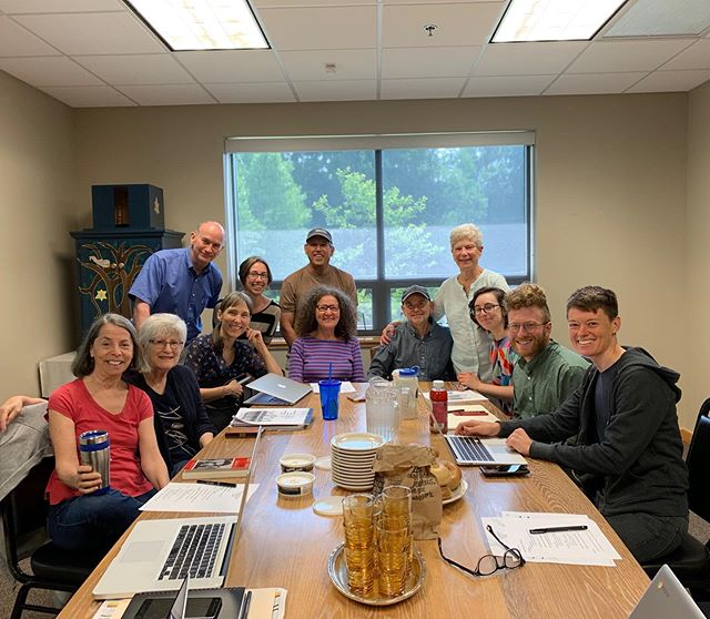 Another great CJJ West steering committee meeting today! Lots of incredible events in the works.  Thanks especially to Brandon and Cole for driving all the way out to join us from the Piedmont. 📷: @marilynne.herbert