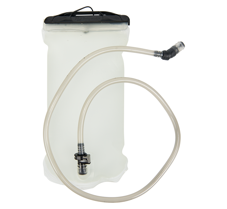 Features & Benefits  BPA-free hydration bladders with high-flow bite valves and large, easy-fill openings now come with quick-release hoses for convenient cleaning and faster set-up in your favorite Nathan Race Vest.  Compatible with the following Packs/Vests: VaporHowe 4L, VaporKrar 4L, and Fireball