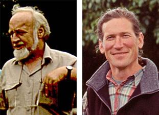 Bill Mollison (1928-2016) and David Holmgren (b. 1955)