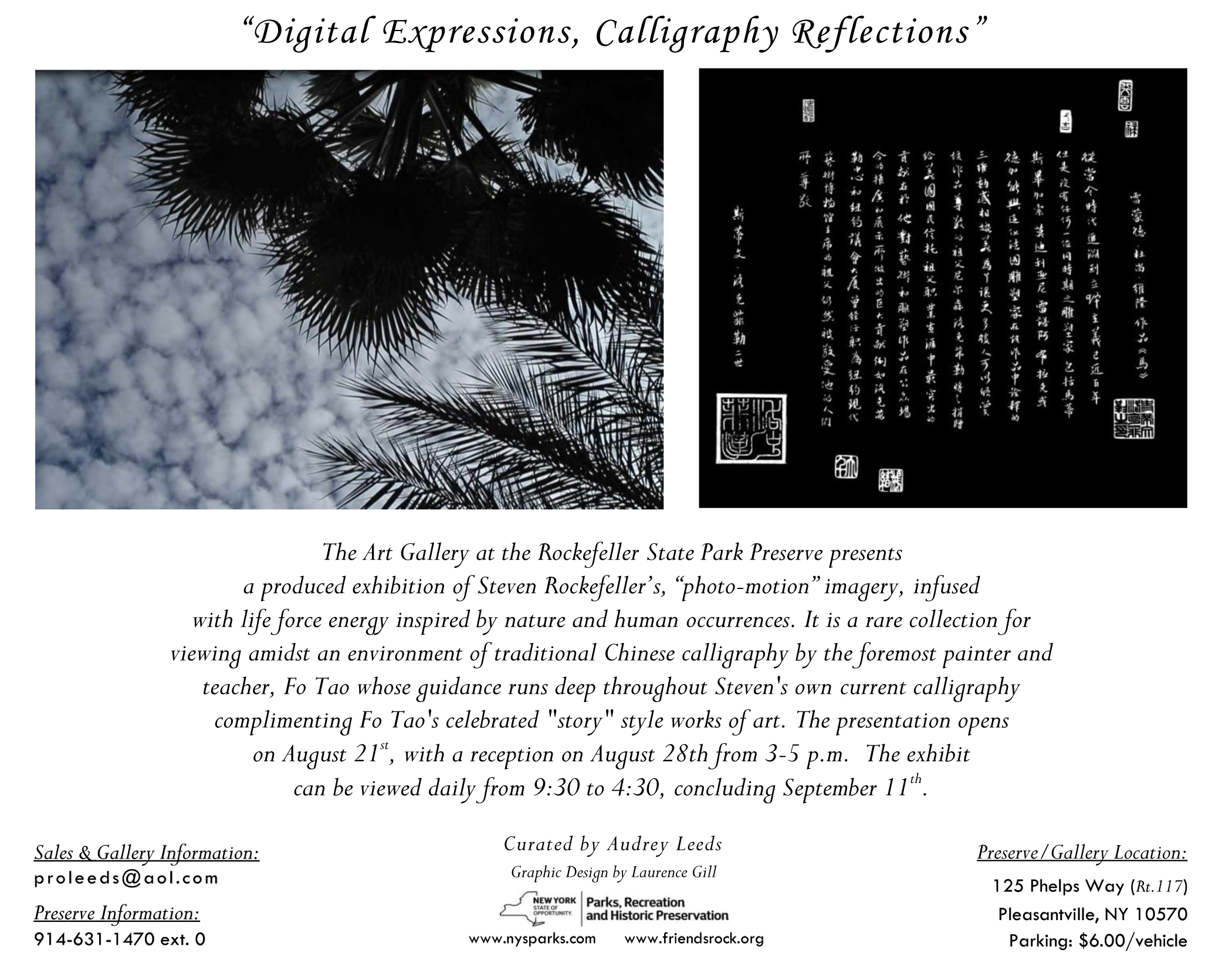 Digital Expressions, Calligraphy Reflections