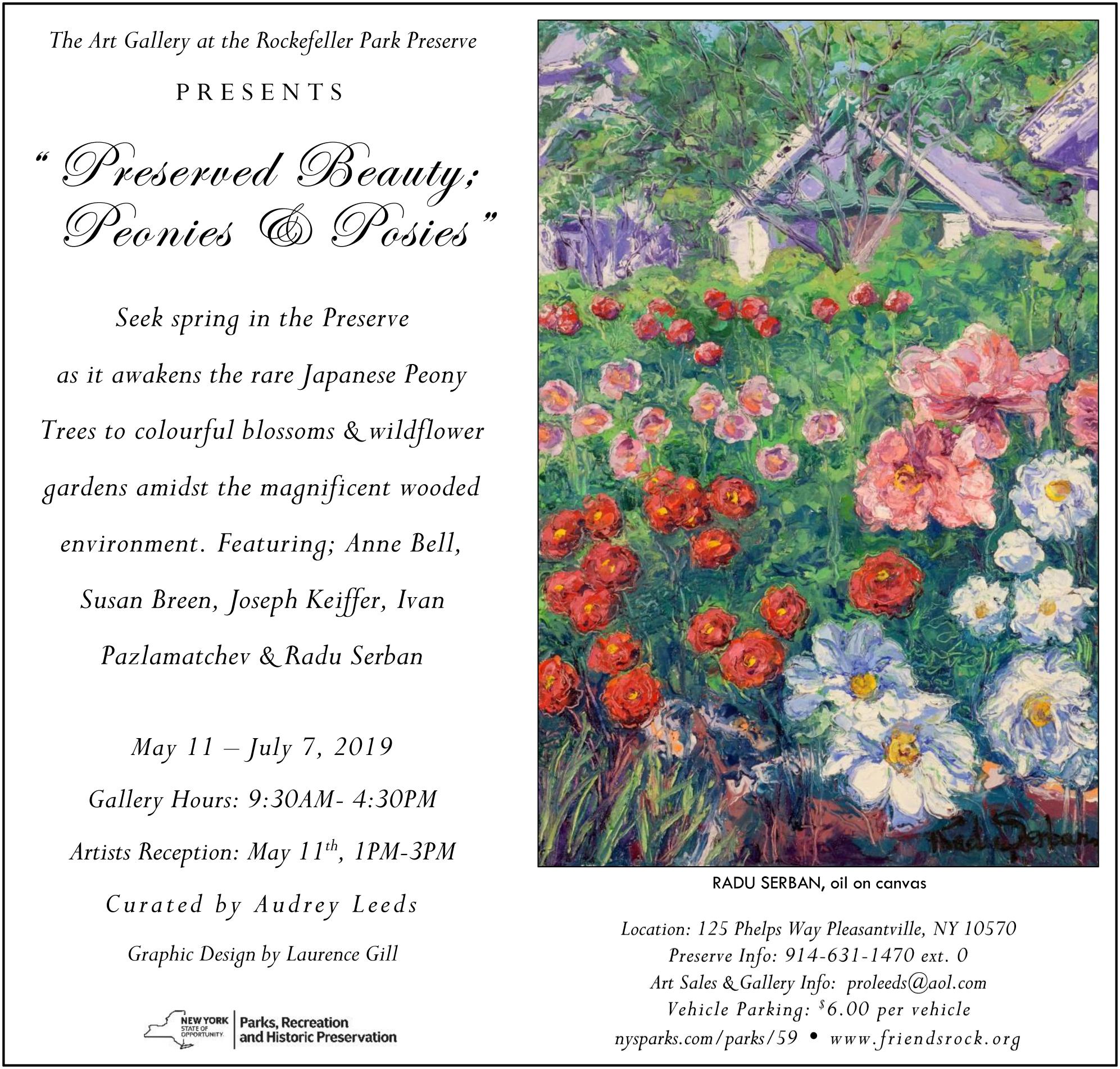 Preserved Beauty, Peonies & Posies