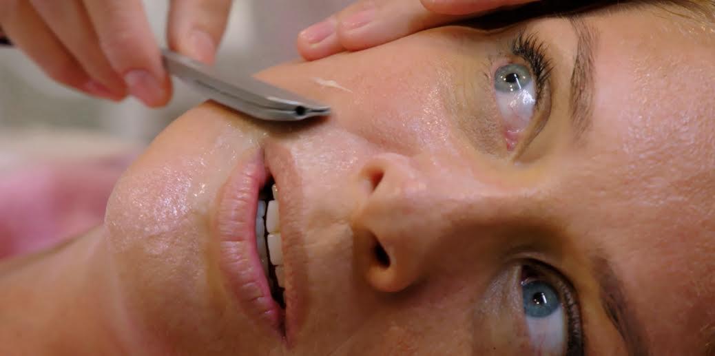 Japan's Face Shaving -