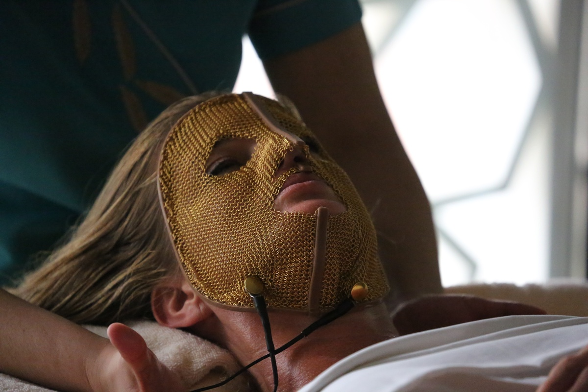 The worlds most luxurious facial -