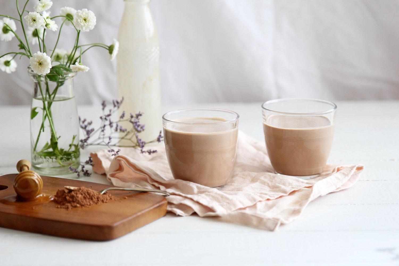 honey, cacao & pumpkin seed 'milk' -
