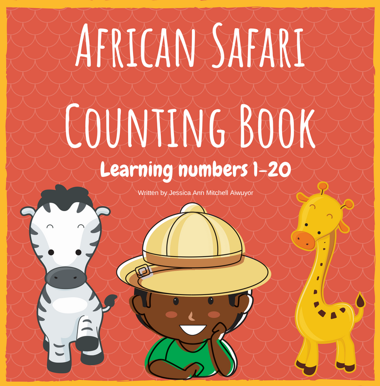 African Safari Counting Book - Front Cover.png