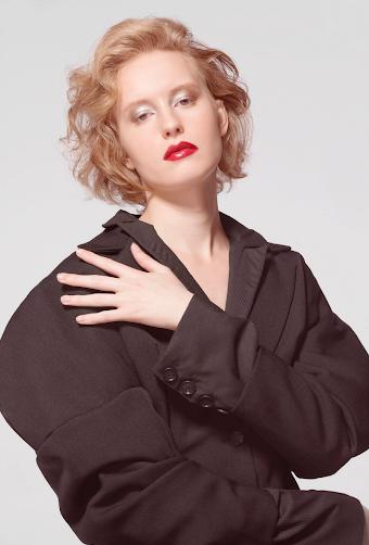 Photographer   Mace Vannoni   Hair Stylist   Jette Stewart   Stylist   Asamaria Camnert   Model   Rori Grenert