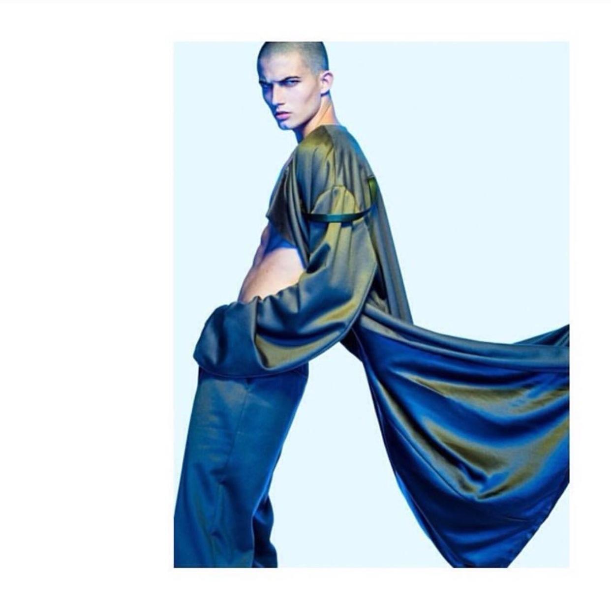 Photographer   Benedict Evans   Hair Stylist   Ben Martin   Stylist   Asamaria Camnert   Model   Alex Corporan