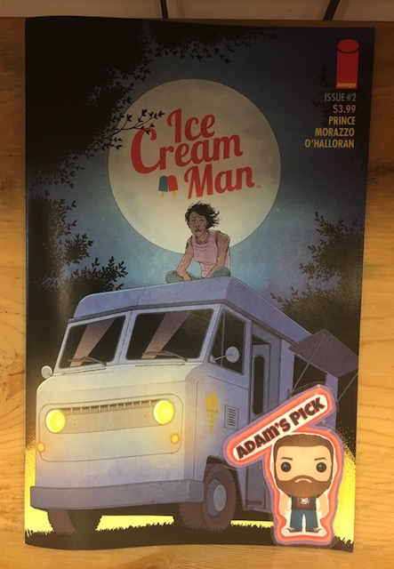 Ice Cream Man #2 - Adam's PickWriter: W. Maxwell PrinceArt: Martin Morazzo, Chris O'Halloran