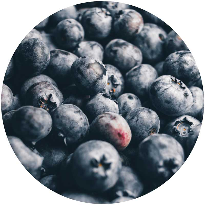 Berries are an excellent source of antioxidants.