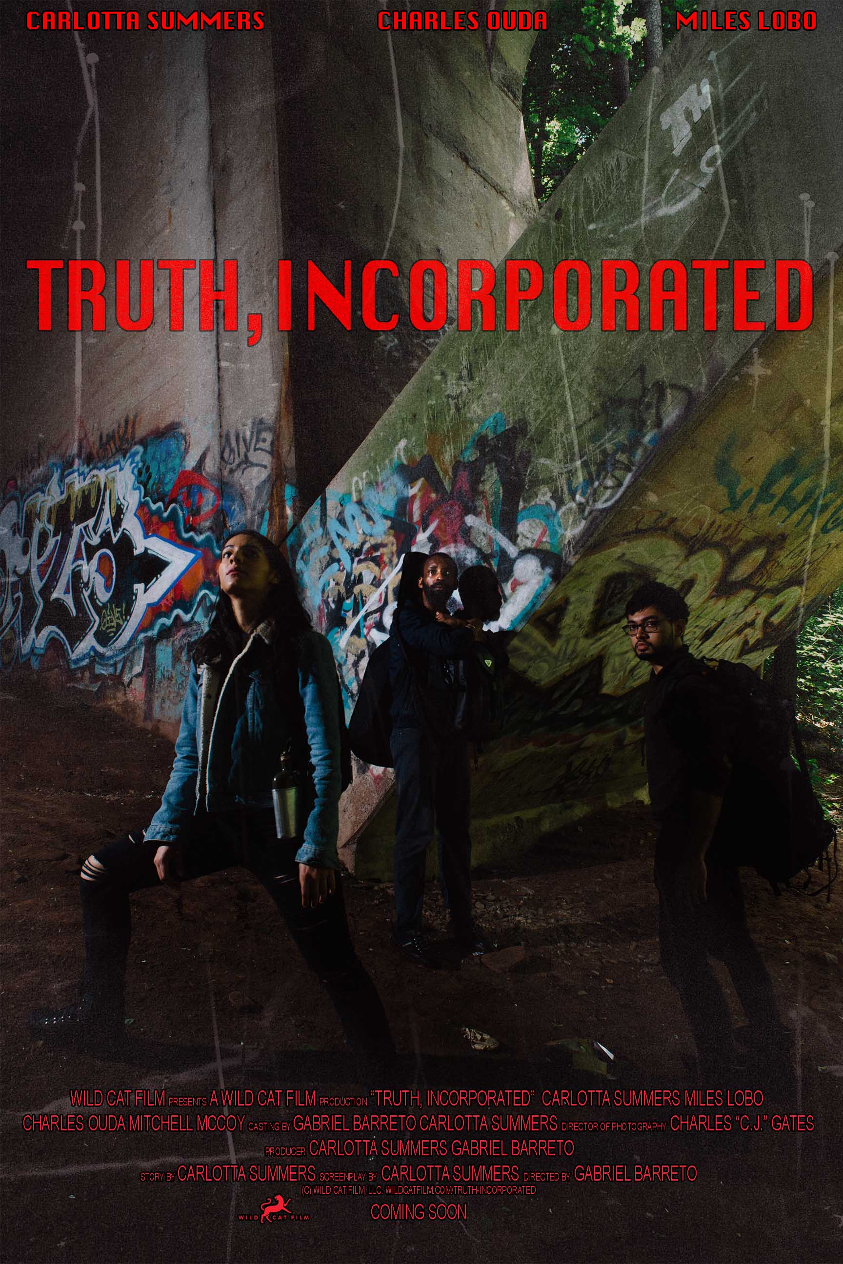 Truth Incorporated - A Cautionary Tale: In a post-totalitarian takeover, a group of rebels must report the news while confronting dark secrets of their own.