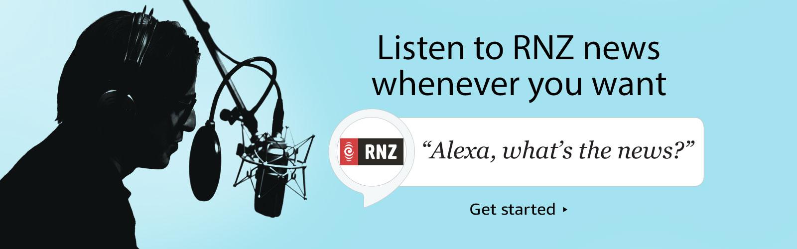 Photography and Graphic Design for RNZ's Alexa Skill - Amazon.com.au