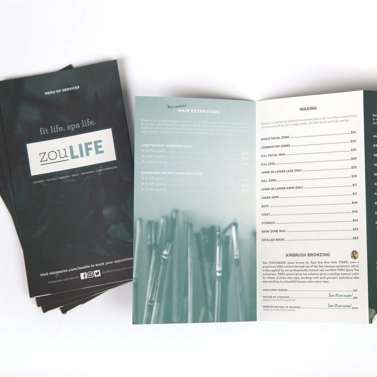 MENUS + BROCHURES - Print and digital designs and custom brand photography available for these projects.Investment: Priced per projectTimeline: 2-3 weeks
