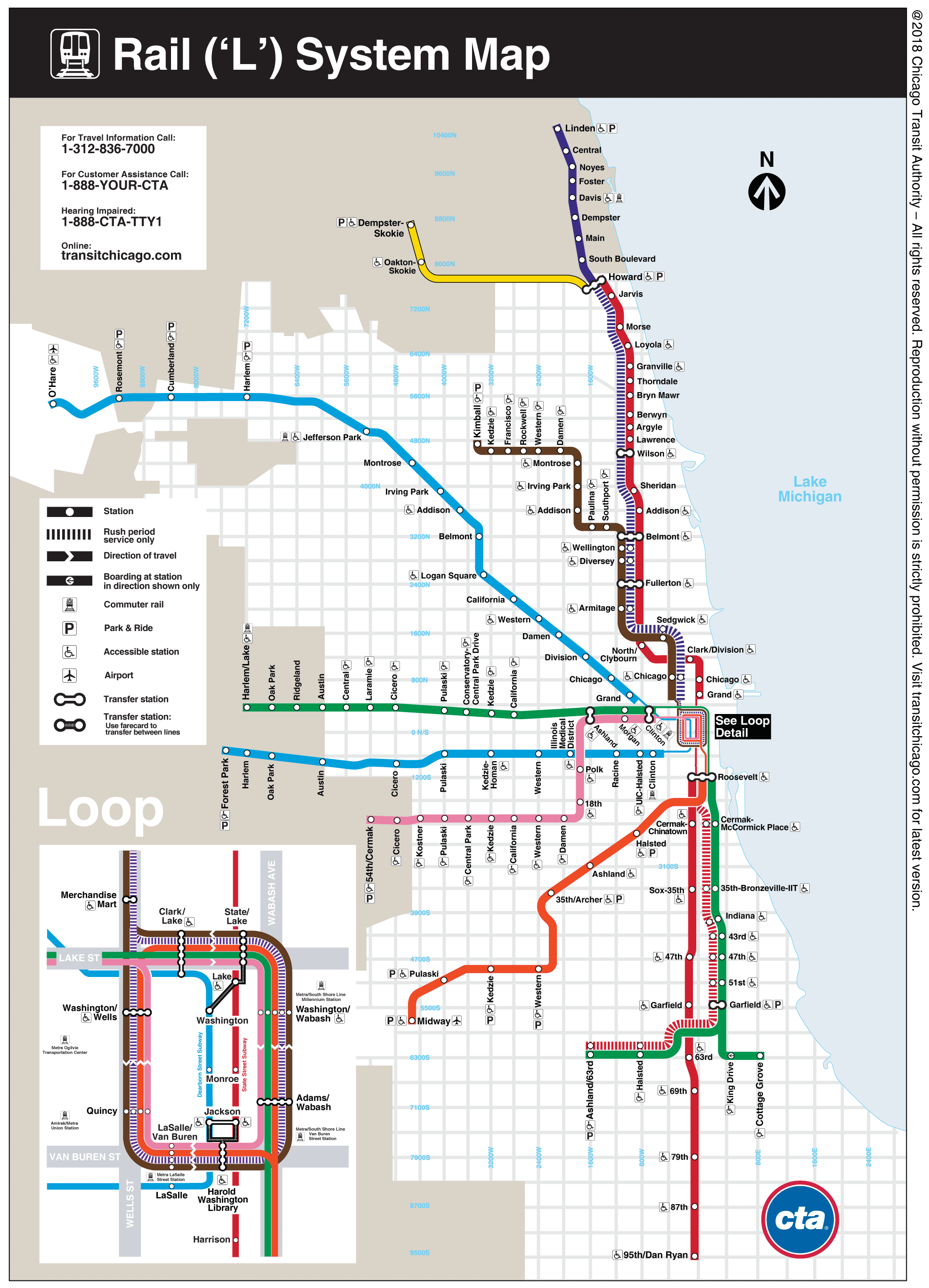 chicago subway map from o hare airport Chicago O Hare Airport Train Transfer Guide The L Ord chicago subway map from o hare airport
